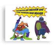 Beaver Heroes Canvas Print