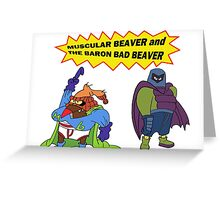 Beaver Heroes Greeting Card