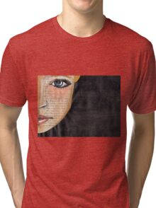 Turn the other cheek Tri-blend T-Shirt