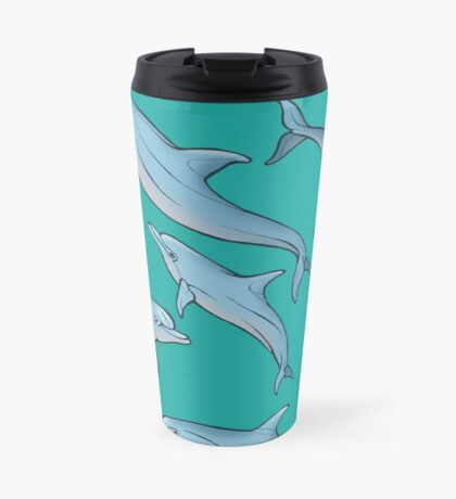 A story about dolphins 3 Travel Mug