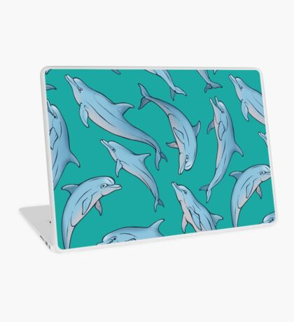 A story about dolphins 3 Laptop Skin