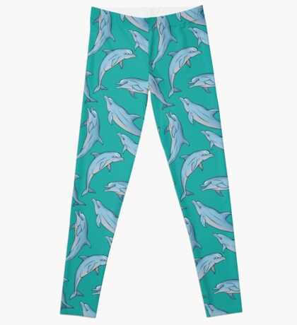 A story about dolphins 3 Leggings