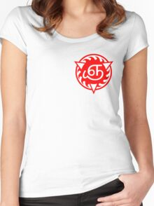 Reapers' Symbol (Small) Women's Fitted Scoop T-Shirt