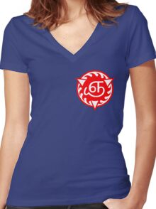 Reapers' Symbol (Small) Women's Fitted V-Neck T-Shirt