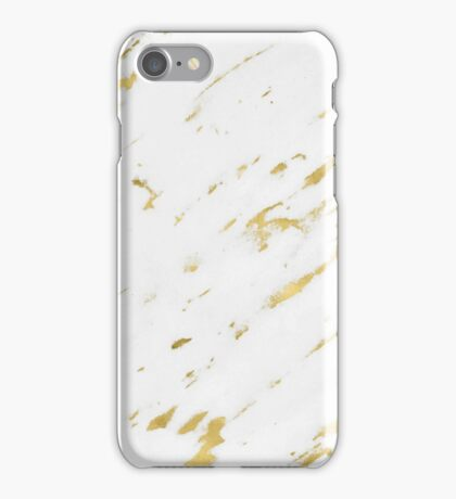 Marble - Yellow Gold Marble Design iPhone Case/Skin