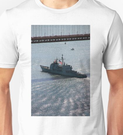USS Mobile Bay (CG 53), Ticonderoga class guided-missile cruiser Unisex T-Shirt