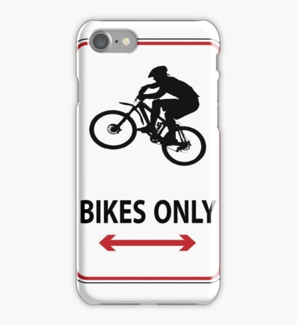 MTB up iPhone Case/Skin