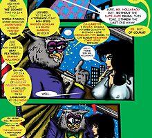 Bird of Steel Comix – # 6 of 8 -  (Red Bubble POP-ART COLLECTION SERIES)  by TexWatt