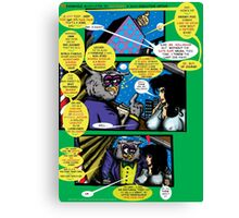 Bird of Steel Comix – # 6 of 8 -  (Red Bubble POP-ART COLLECTION SERIES)  Canvas Print