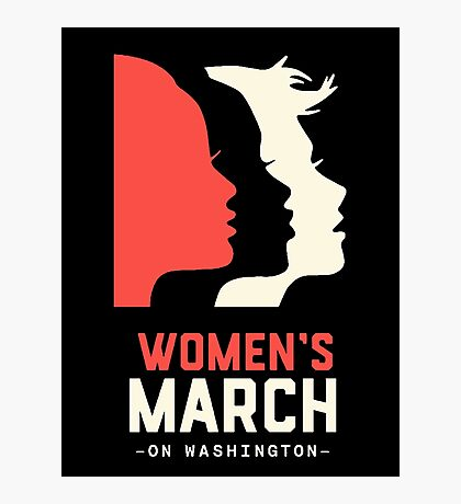 Women's March on Washington 2017 Official Photographic Print