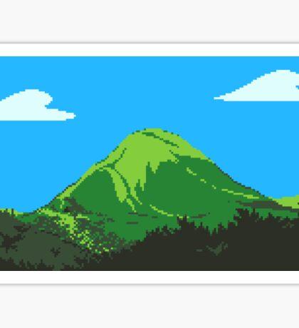 Undertale Pixel Scenery Sticker