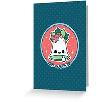 Kawaii Christmas Bell Greeting Card