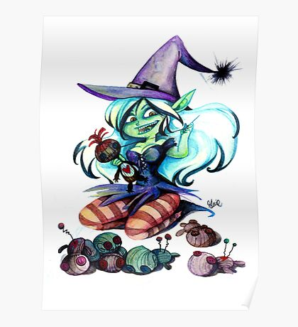 Voodoo Lady Poster