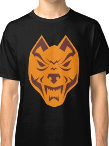 Angry Wolf Head Retro Classic T-Shirt