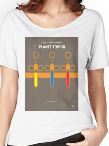 No165 My Planet Terror minimal movie poster Women's Relaxed Fit T-Shirt