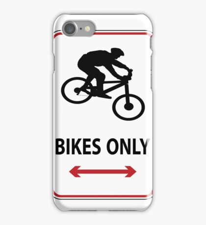 MTB down iPhone Case/Skin