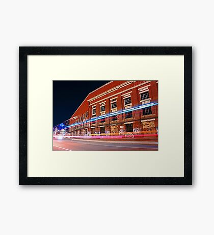 Old Fremantle Woolstores Building  Framed Print