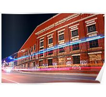 Old Fremantle Woolstores Building  Poster