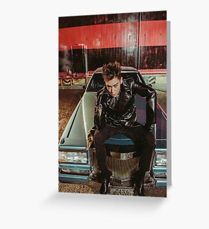 bigbang TOP Greeting Card