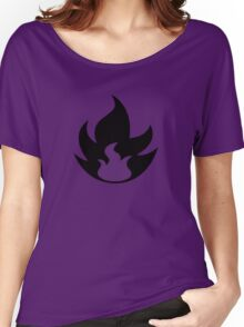 Fire Type Symbol Women's Relaxed Fit T-Shirt