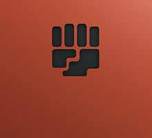 Fighting Type Symbol by LynchMob1009