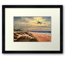 Spitfire MK 9  Framed Print