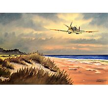 Spitfire MK 9  Photographic Print