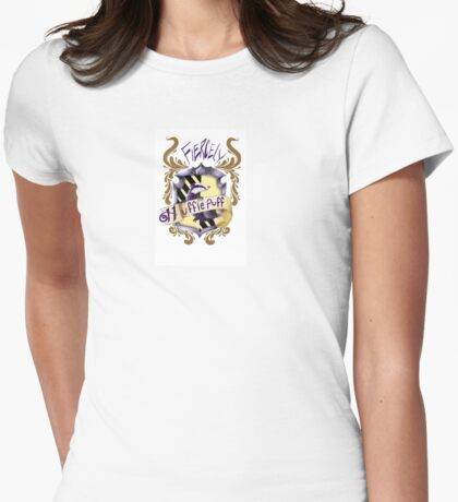 Hufflepuff Pride Womens Fitted T-Shirt