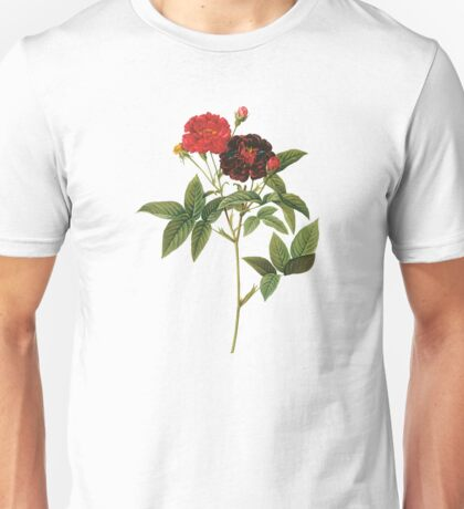 Dark red rose Unisex T-Shirt