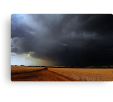 Wheatbelt Thunderstorm Canvas Print