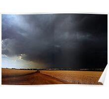 Wheatbelt Thunderstorm Poster