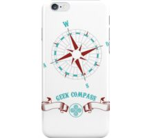 Geek Compass iPhone Case/Skin