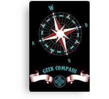 Geek Compass Canvas Print