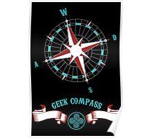 Geek Compass Poster