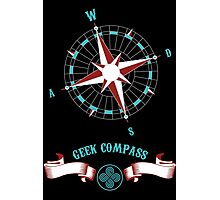 Geek Compass Photographic Print