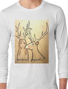 Deer to my Heart Long Sleeve T-Shirt