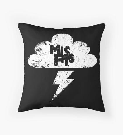 Misfits Throw Pillow