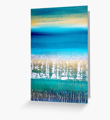 Summer by the Sea Greeting Card