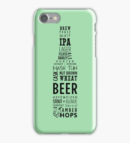 For the beer lover's iPhone Case/Skin