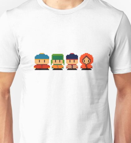 South Park Pixel Unisex T-Shirt
