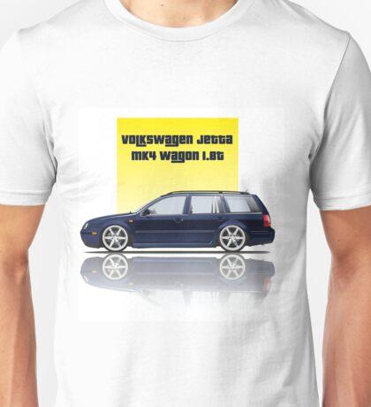 Volkswagen Jetta Mk4 Wagon  by Goosefff Unisex T-Shirt