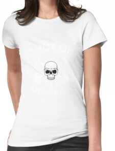 Shut Up and Train Womens Fitted T-Shirt