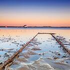 Rusty Rails - Redlands Qld Australia by Beth  Wode