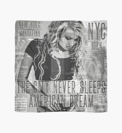 NEW YORK - THE CITY NEVER SLEEPS Scarf