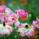 Painterly Floral by Linda Cutche