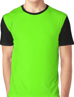 Bright Green Graphic T-Shirt