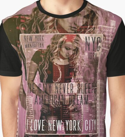 NEW YORK - THE CITY NEVER SLEEPS Graphic T-Shirt