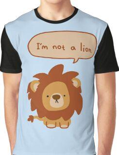 Lying Lion Graphic T-Shirt