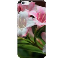 White pink flowers. iPhone Case/Skin