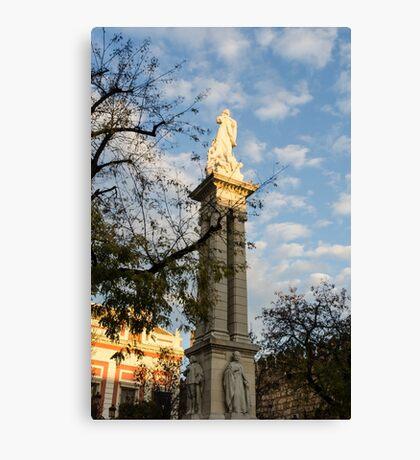 Seville - Plaza del Triunfo Canvas Print